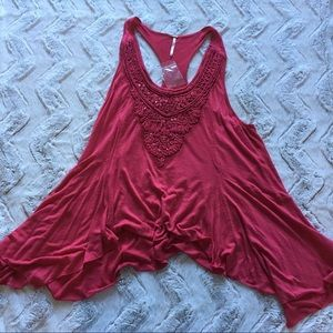 Free People sequence flowy tank top